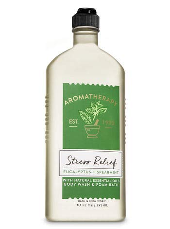 Bath & Body Works Aromatherapy Stress Relief - Eucalyptus + Spearmint Body Wash