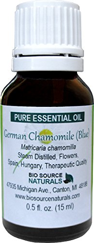 German Chamomile Pure Essential Oil by BioSource Naturals