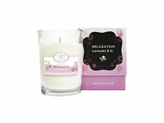 Aromatherapy Essential Oil Soy Candle